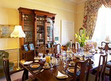b&b accommodation- dining room, north berwick