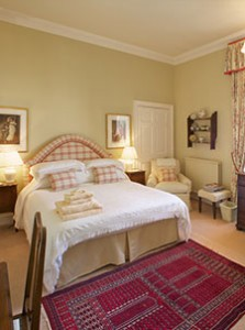 luxury  b&b accommodation double bedroom, north berwick
